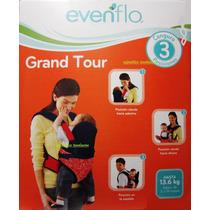 Cangurera Evenflo Grand Tour Nueva 3 Posiciones