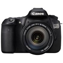 Canon Eos 60d 18mp Con Lente 18-135mm Camara Digital