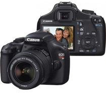 Canon Eos Rebel T3 Slr 12.2mp Con Lente 18-55mm