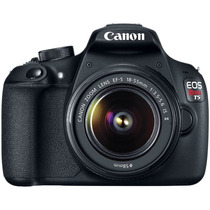Canon T5 18 Mp Con Lente Ef-s 18-55mm Is Ii Full Hd Nueva T3