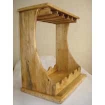 Cava Rústica Para Vinos.madera De Pino Apolillada.excelente