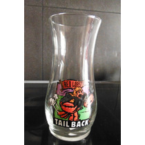 Vaso Cerveza Red Lobster Tail Back Langosta Roja Souvenir