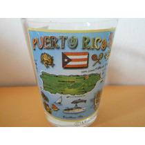 Vaso Shot Tequilero Puerto Rico Gift Souvenir Bar Cantina