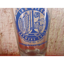 Vaso Cerveza San Diego Brewer Guild Souvenir Beer California