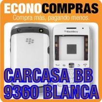 Carcasa Para Blackberry Curve 9360 Blanca 100% Nueva!!!!!!!!
