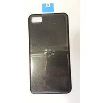 Tapa Para Blackberry Z10 Original, Parte De Atras