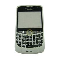 Carcasa Blackberry 8350i Blanca C / Trackball