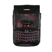 Verizon Cuero Caso Para Blackberry Audaz 9650/gira 9630 (bla