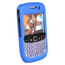 Blackberry Curva 8530 / 8520 Goma Caso - Oscuro Azul
