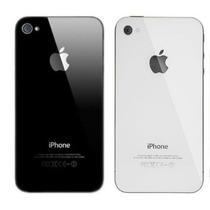 Tapa Trasera Cristal Iphone 4 4s Negra Blanca Instalo Gratis