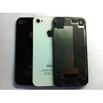 Iphone 4 4s Tapa Bateria Trasera Carcasa Vidrio Cristal