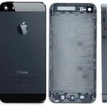 Carcasa Iphone 5 Original Negro Y Blanco (plata) + Regalos