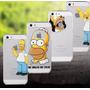 Caratula Para Iphone 5 5s Funda Carcaza Simpsons En Oferta