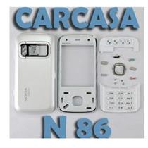 Oferta!! Carcasa Caratula Nokia N86 Negra Y Blanca Completa