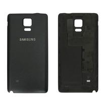 Tapa Batería Trasera Original Negro Galaxy Note 4 Sin Nfc