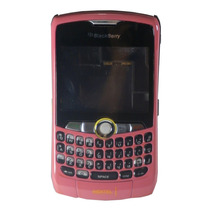 Carcasa Blackberry Nextel 8350i Rosa Viejo Trackpad Completa