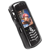 Krusell - Clásico Multidapt Cuero Caso Para Blackberry Pera