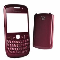 Carcasa Para Blackberry 8520 Color Tinto