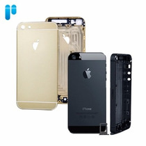 Chasis Iphone 5g Color Dorado / Negro Midframe Carcasa Nueva