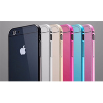 Bumper Alumininio Con Tapa Trasera Iphone 6/plus Elige Color
