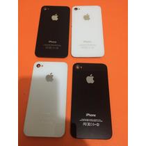 Tapa Trasera De Iphone 4 Y 4s Originales Negra Y Blanca