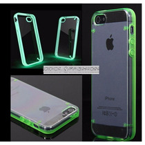 Funda Bumper Luminosa Iphone 5 Y 5 S Brilla En La Oscuridad