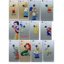 Lote 20 Funda Case Homero Simpson Blanca Nieves Iphone 6