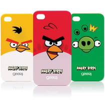 Lote 11 Pzas Carcasa Iphone 4/4s Tipo Angry Birds - Toluca