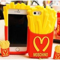 Iphone 5g/5s Funda Papas Fritas Mcdonalds Moschino +regalo !