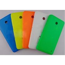 Tapa Para Nokia 630 635 / Amarillo Azul Blanco Naranja Verde