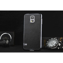 Samsung S5 I9600 Tapa Trasera En Piel +stylus Pluma