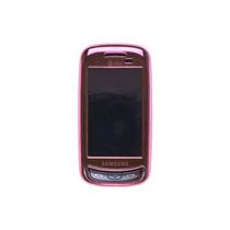 Chasquido-en Caso Para Samsung Impresión Sgh-a877 - Luz Rosa