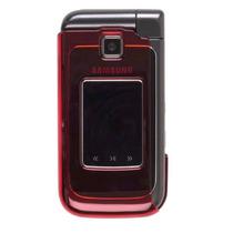 Dos Pieza Chasquido-en Caso Para Samsung Sch-u750 (rojo)