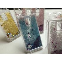 Funda Carcasa Estrellas Brillo Samsung Note 4