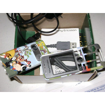 Caratula Sonyericsson K310a + Cargador Cable De Datos Etc.