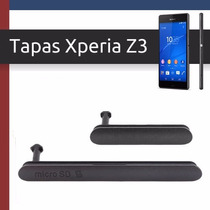 Tapas De Puertos, Xperia Z3, Usb, Micro Sd, Sim, Corr De Mex
