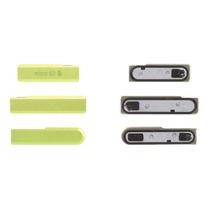 Tapa Polvo Sim Micro Sd Sony Xperia Z1 D5503 Compact Verde