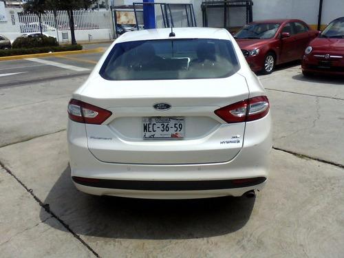 Carflex Seminuevos Leon Ford Fusion Se Hybrid Cat 2015