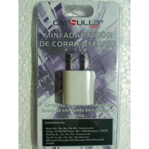 Adaptador D Corriente Usb 5v Cargador Apple Iphone Ipad Ipod