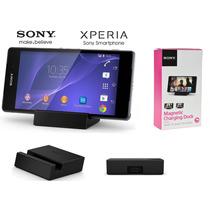 Base Carga Magnética Dk48 Sony Para Xperia Z3 Y Z3 Compact