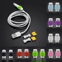 1 Par Protectores Para Cable Usb De Iphone, Ipad, Ipod.