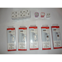 Kit 2 En 1 Cable Y Cargador De Pared Para Iphone Ipod Ipad