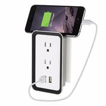 Contacto Electrico Con Cargador Usb Celular Y Tablet