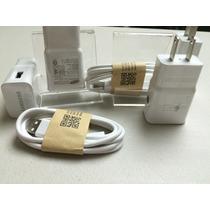 Cargador Y Cable Datos Samsung Carga Rapida Note 4, S6