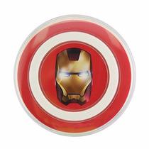 Cargador Inalambrico Qi Wireless Avengers Iron Man