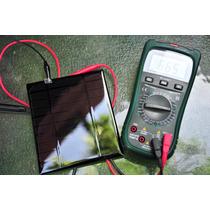 Celda Solar 6.5v 550ma Panel Solar Para Cargador Celular 2.5
