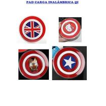 Cargador Carga Inalámbrica Qi Ironman, Inglaterra, Kitty Cap