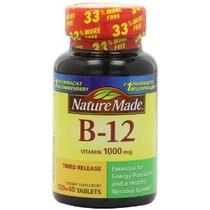 Naturaleza La Vitamina B-12 Hecho Temporizado Comprimidos De