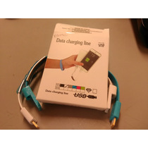 Kit O Set De 2 Pulseras Para Cargar Iphone 5 Y 6 (6074)