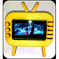 Funda En Forma De Televisión Para Celular. Retro Shouth Tv